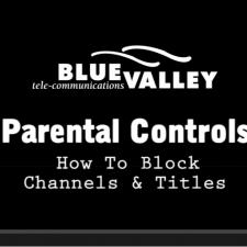 Parental Controls: Blocking Channels & Titles